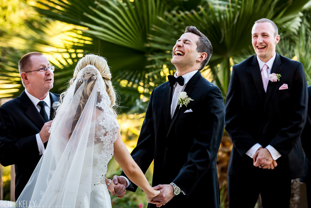 Wedding ceremony at The Phoenician - Ben and Kelly Photography