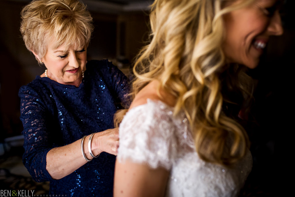 Mom and bride - The Phoenician Weddings - Ben and Kelly Photography