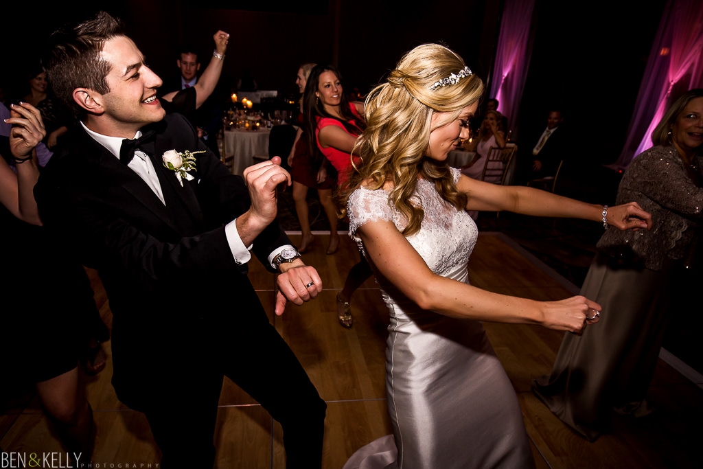 Reception dancing - The Phoenician - Ben and Kelly Photography
