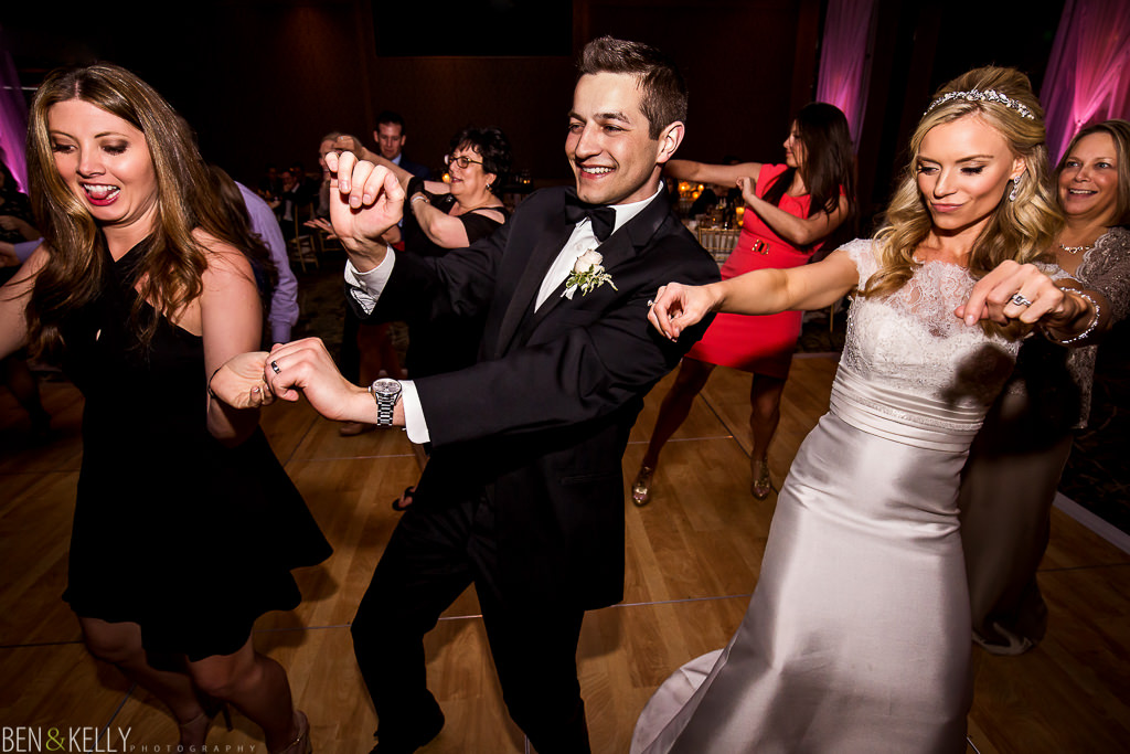 Wedding Dancing - The Phoenician - Ben and Kelly Photography
