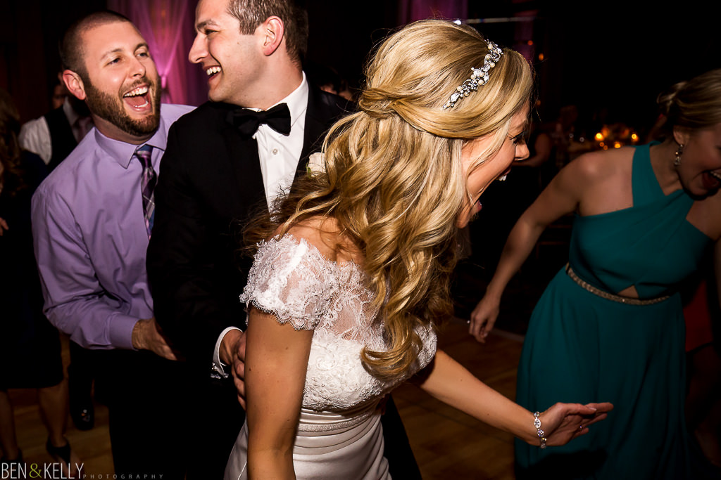 Dancing - The Phoenician Wedding - Ben and Kelly Photography