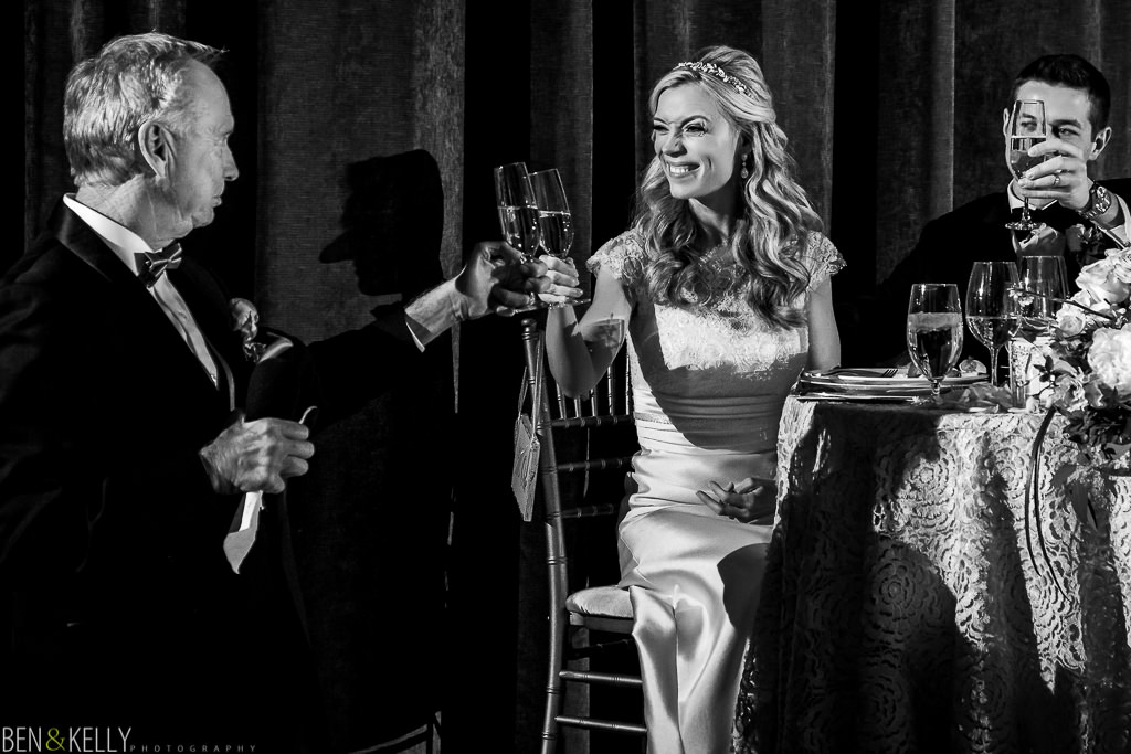 Great toast - the Phoenician Wedding - Ben and Kelly Photography