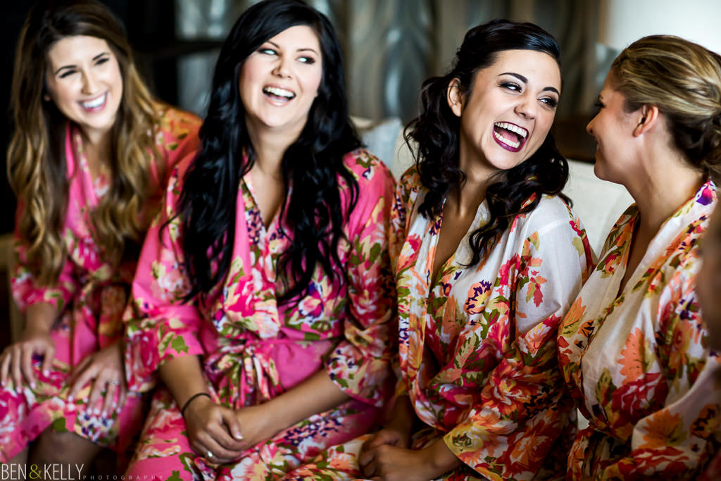 bridesmaids - Hotel Palomar wedding - Ben and Kelly Photography