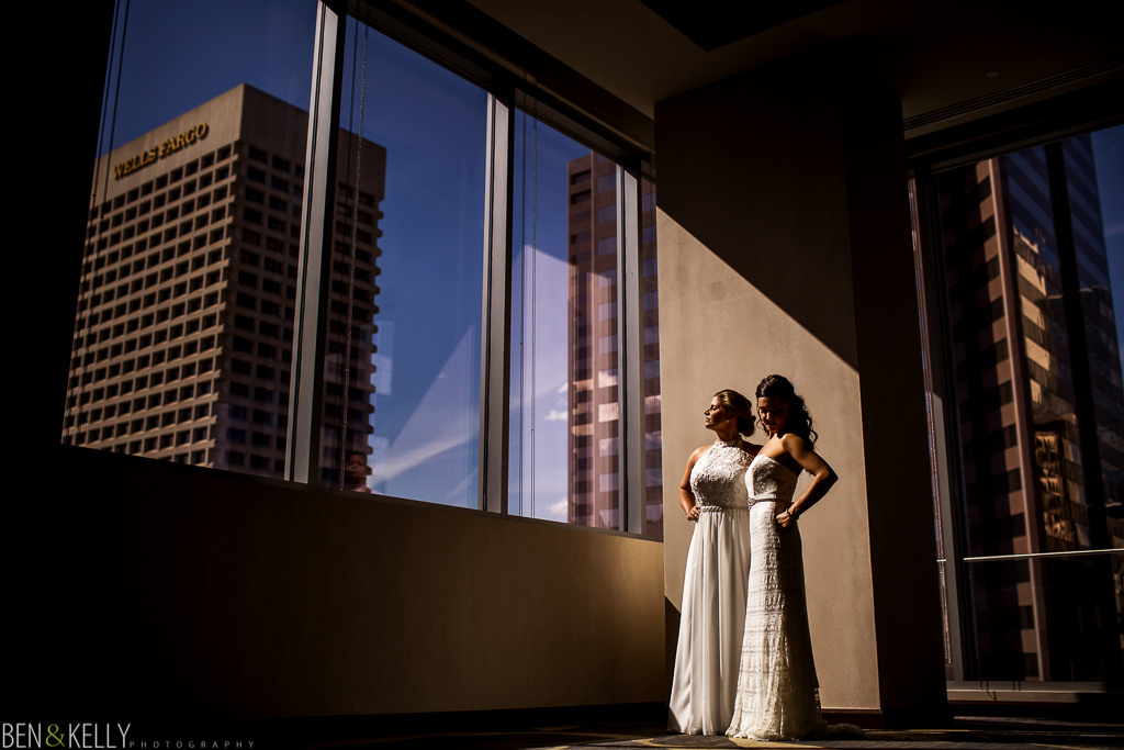Best wedding Downtown Phoenix - Ben and Kelly Photography