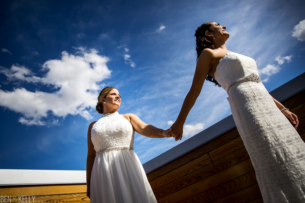 gay weddings at Hotel Palomar Phoenix - Ben and Kelly Photography