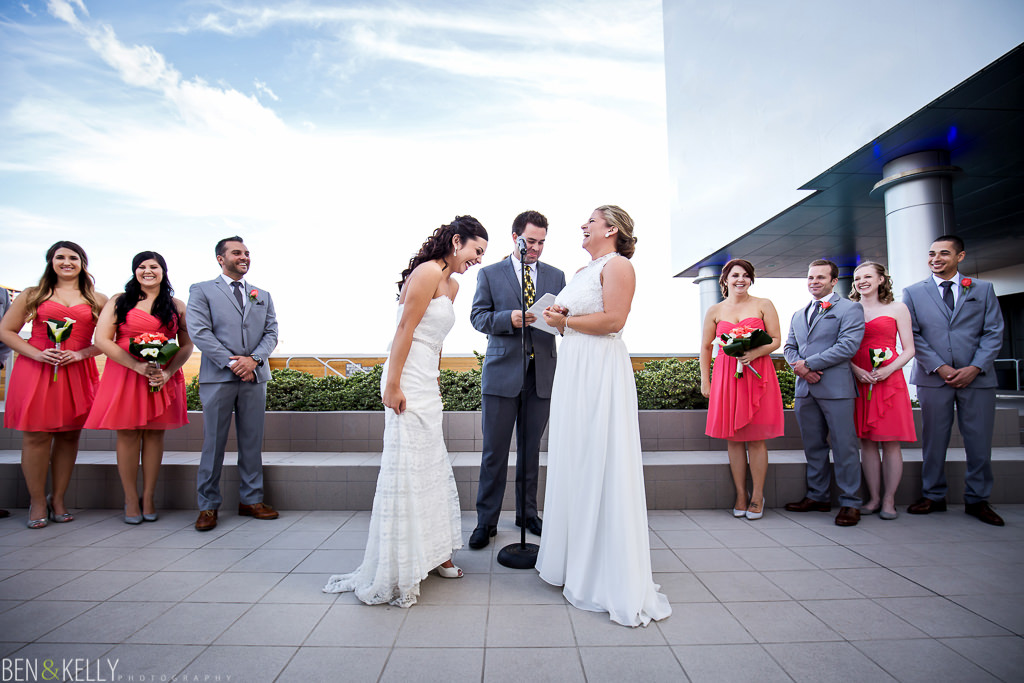 gay wedding ceremony - Hotel Palomar Phoenix - Ben and Kelly Photography