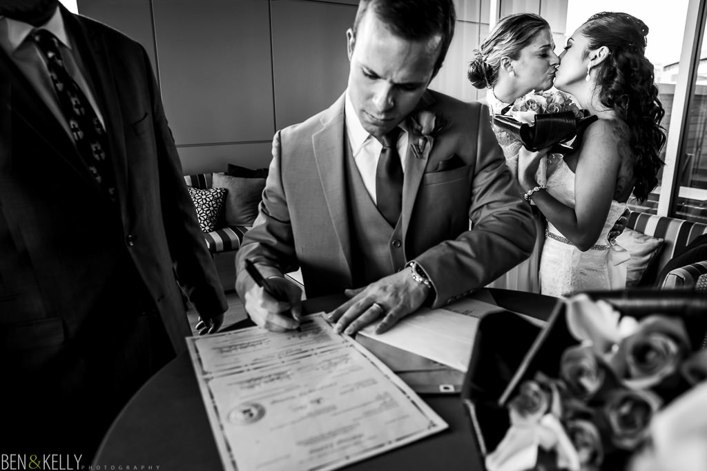 Marriage License - Phoenix - Ben and Kelly Photography