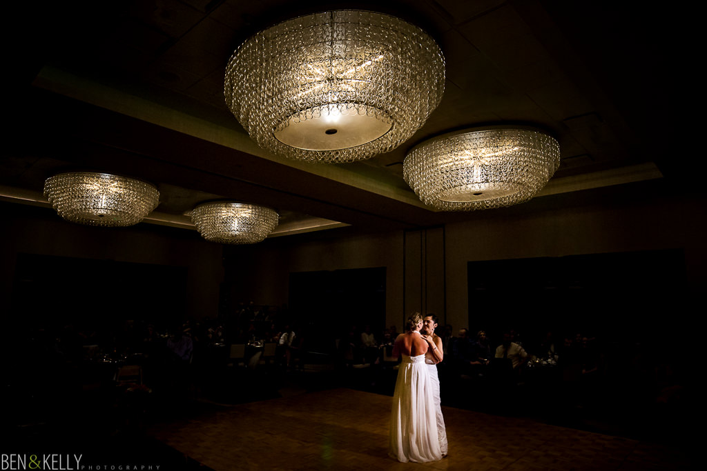 first dance - Hotel Palomar wedding - Ben and Kelly Photography