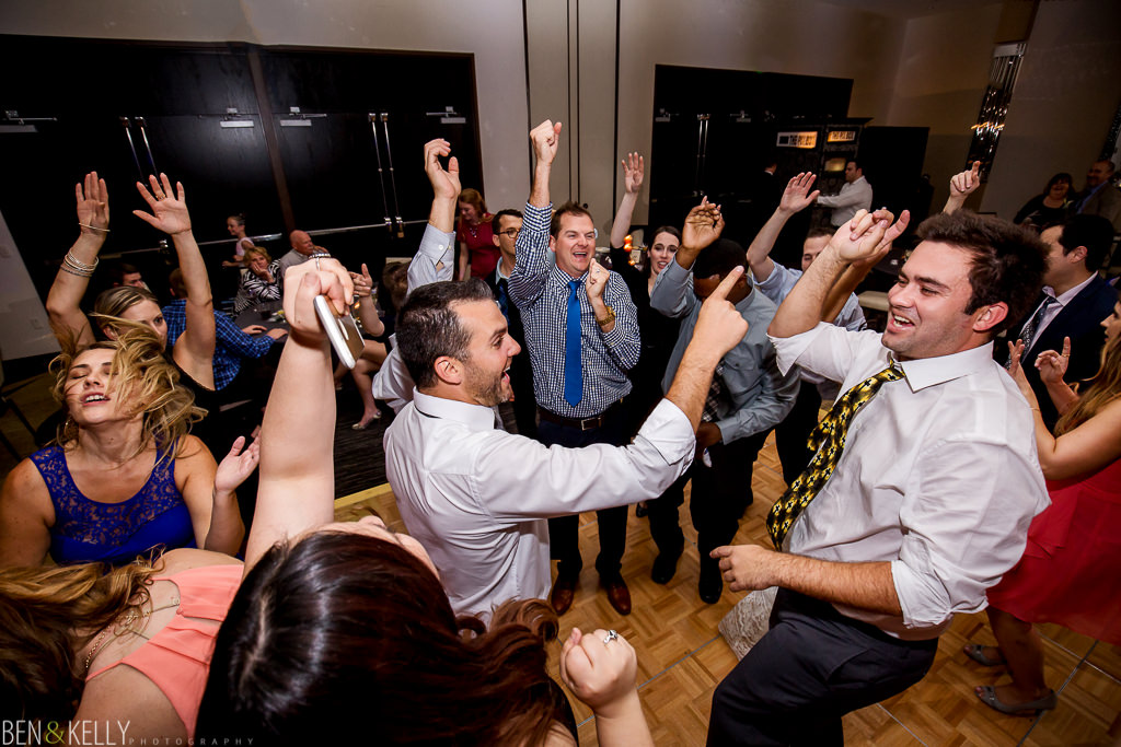 Hotel Palomar wedding reception - Ben and Kelly Photography