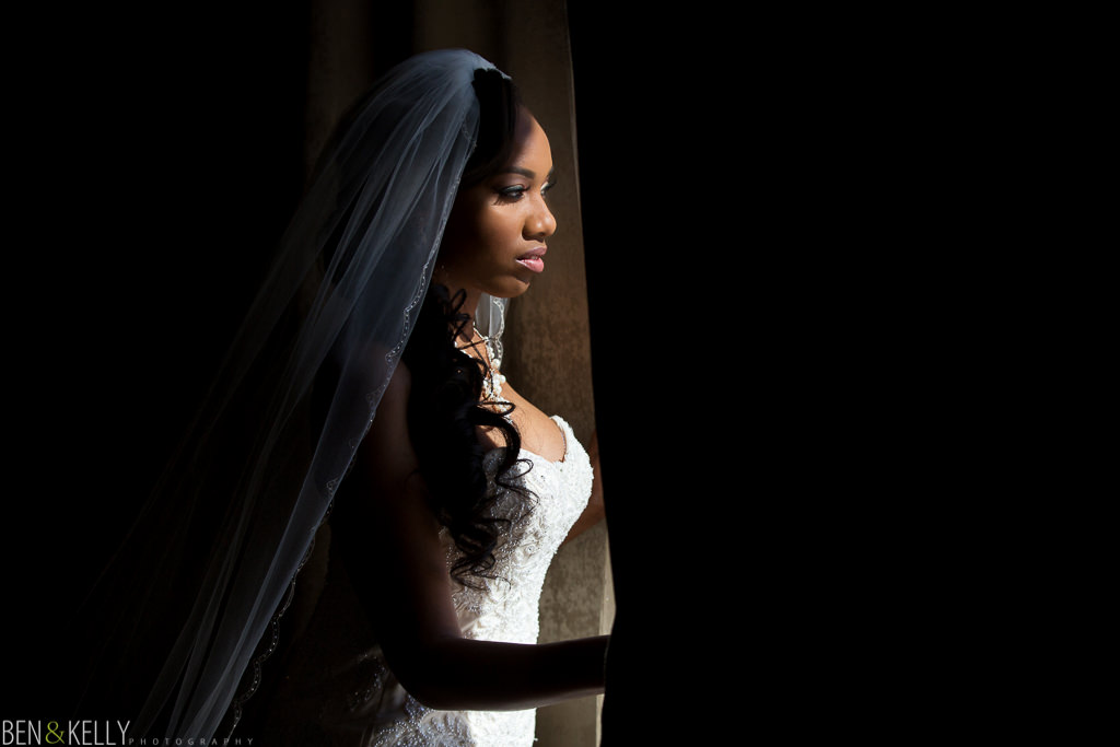 Gorgeous Bride - wedding at Chateau Luxe - Ben and Kelly Photography
