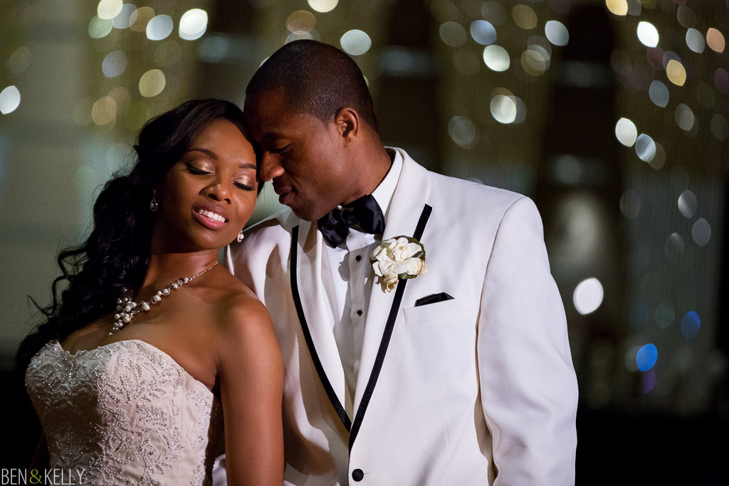 stunning portrait - chateau luxe wedding - Ben and Kelly Photography