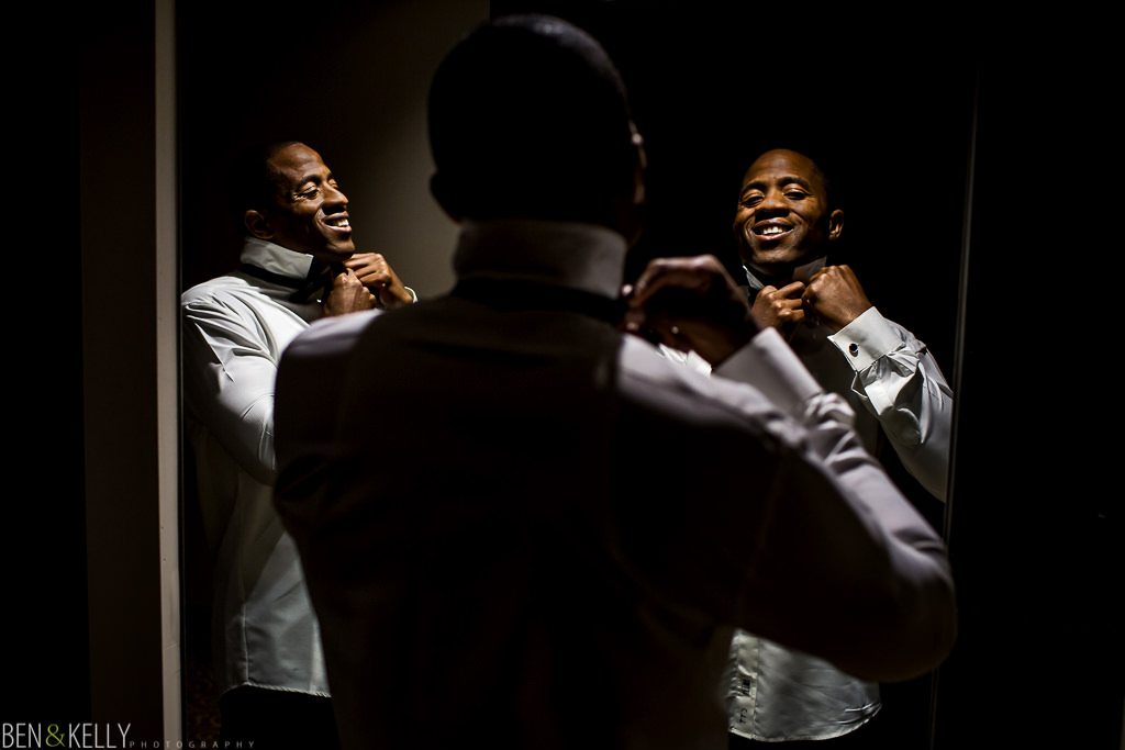 Groom - wedding at Chateau Luxe - Ben and Kelly Photography