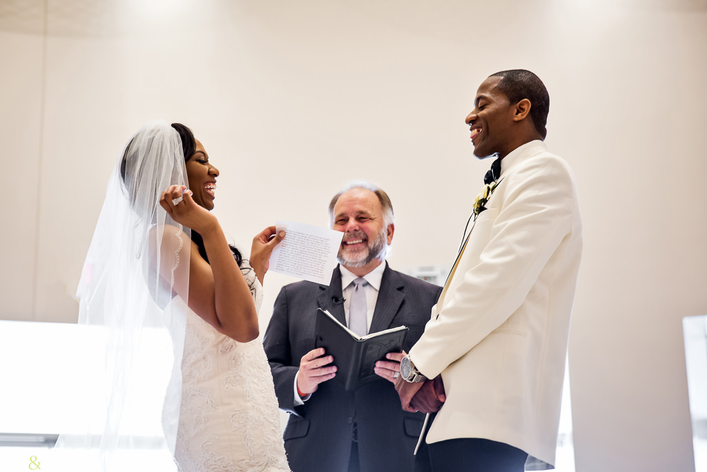 funny wedding at Chateau Luxe - Ben and Kelly Photography