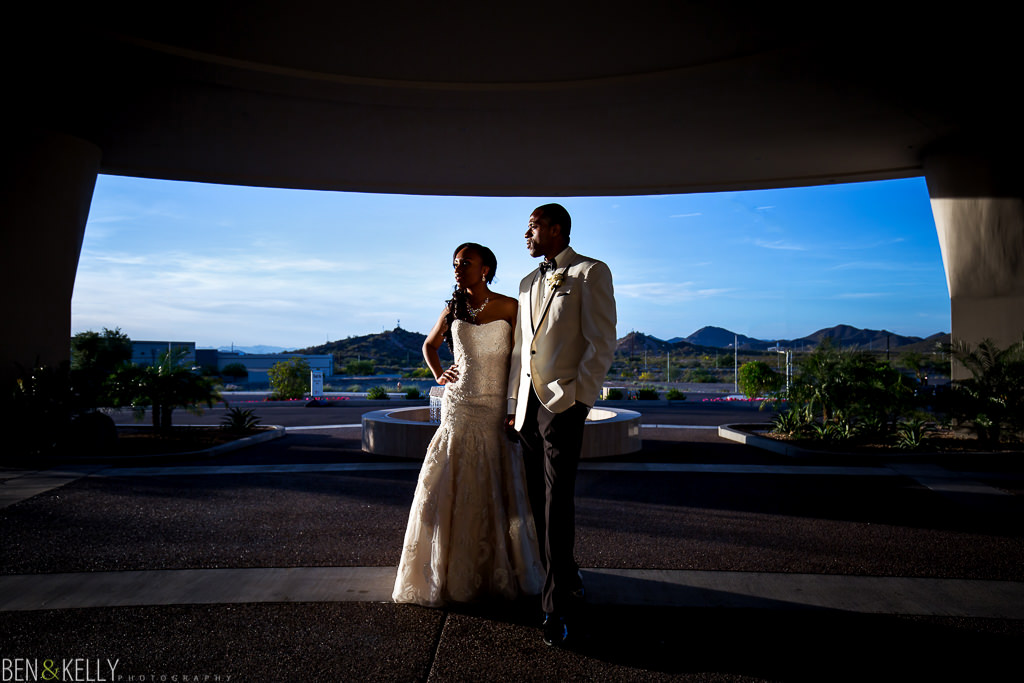 Bride and groom - wedding at Chateau Luxe - Ben and Kelly Photography