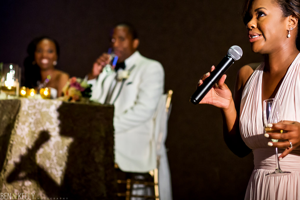 Wedding Toast - Chateau Luxe - Ben and Kelly Photography