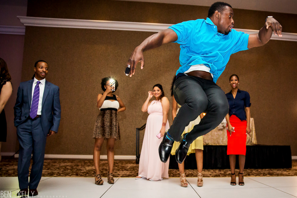 dancing - wedding at chateau luxe - Ben and Kelly Photography