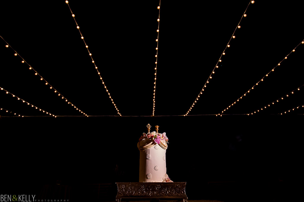 wedding cake - chateau luxe - Ben and Kelly Photography