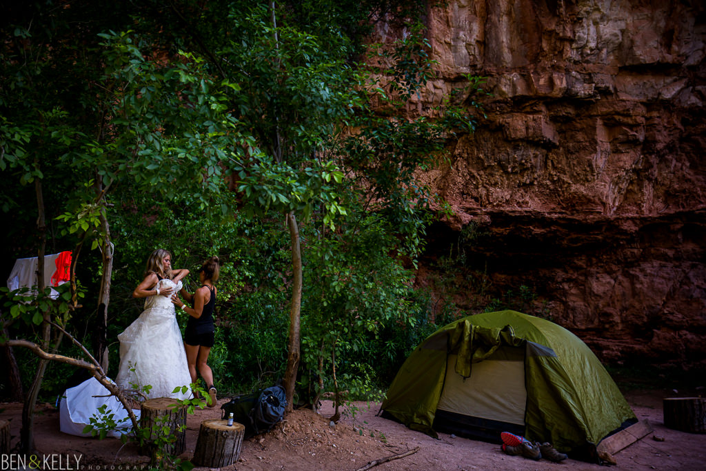 Havasu Falls Camping - Ben and Kelly Photography