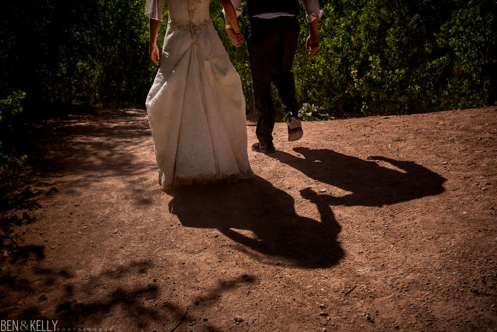 Trash the dress in Grand Canyon - Ben and Kelly Photography