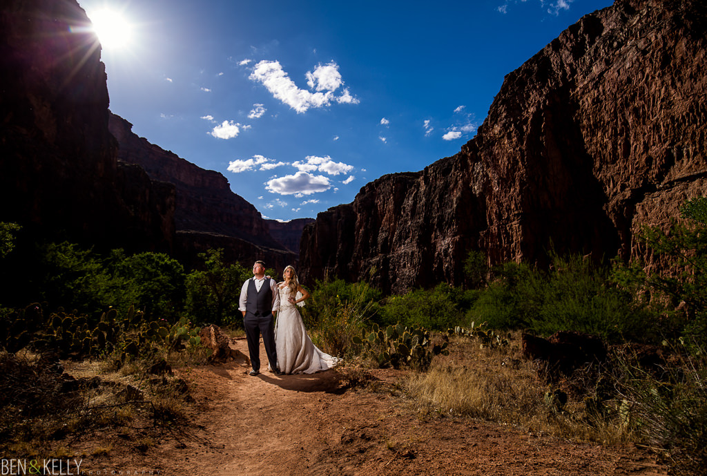 Grand Canyon Wedding Photography - Ben and Kelly Photography