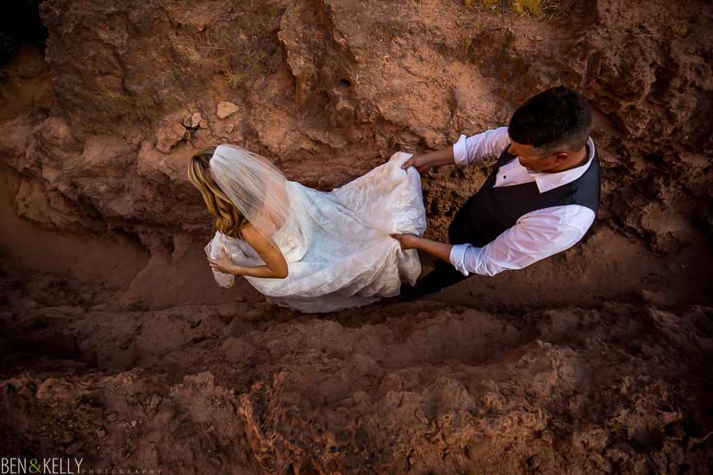 Havasupai Wedding - Ben and Kelly Photography
