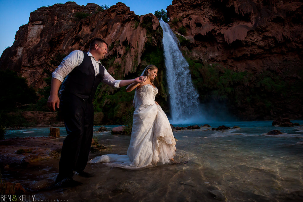 Scenic wedding photography - Ben and Kelly Photography