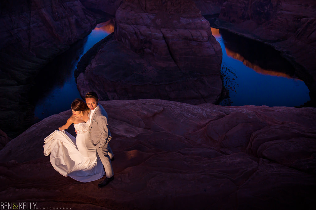Horseshoe Bend at first light makes for a great photograph